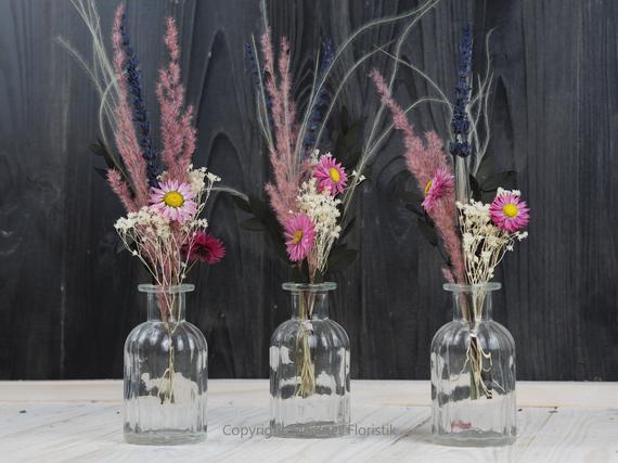 rosa Tockenblumen